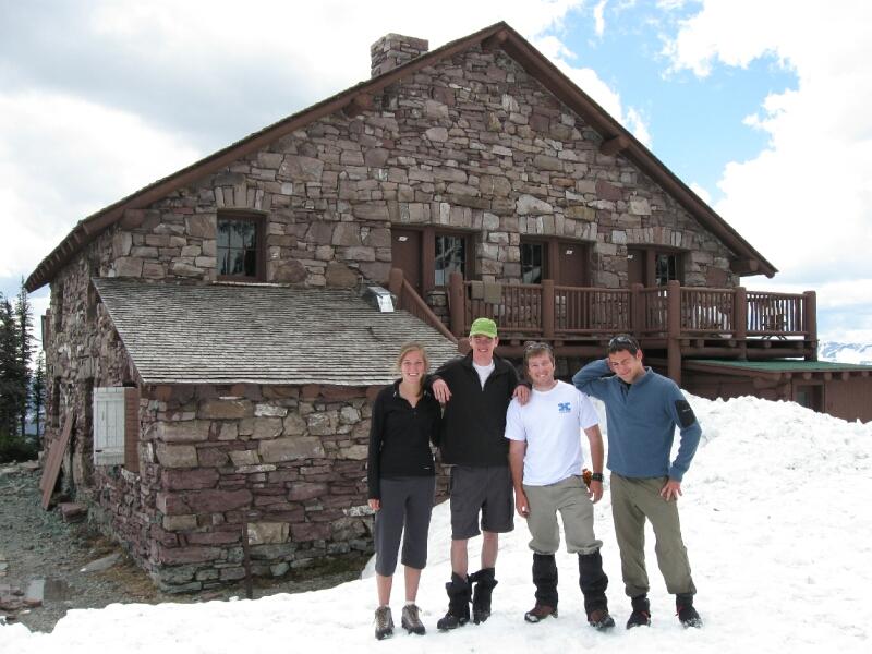 Granite Park Chalet crew