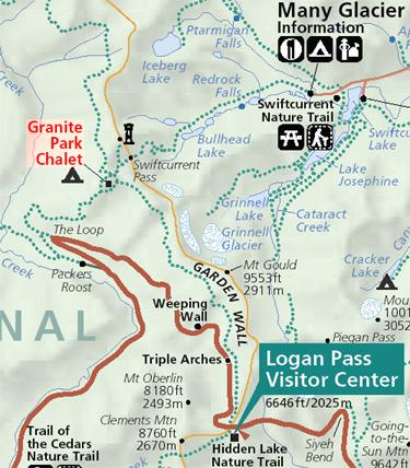 Granite Park Chalet - Location